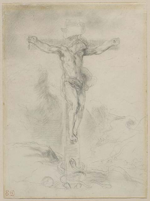 christ-on-the-cross-1856(1)delacroix