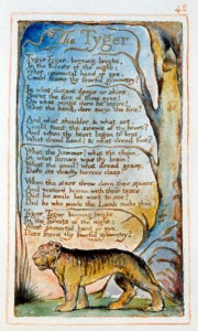 <i> El tigre </i>, de William Blake