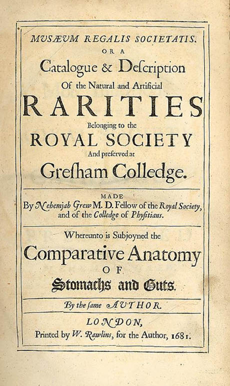libro de la Royal Society