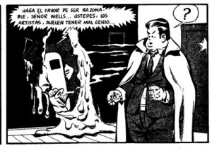 Will Eisner y Orson Welles