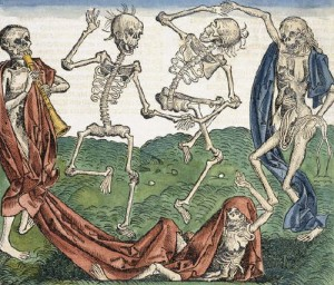 danzamuerte66-Woodcut_Print_of_A_Dance_of_Death_1493