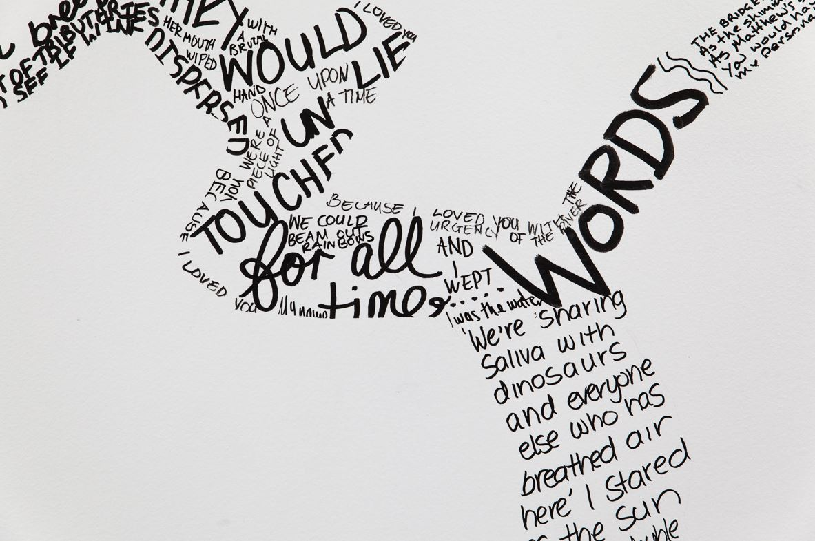 A River of Words, por Selina Springett (http://selinaspringett.com/wp/?p=166)